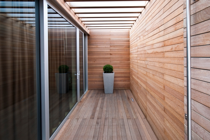 Niangon pavimento e pareti esterni