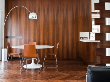 spina Savoia sbottata in Black Walnut naturale