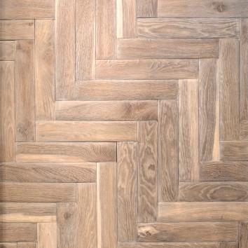 Parquet corteccia spina roma sbottata legno rovere
