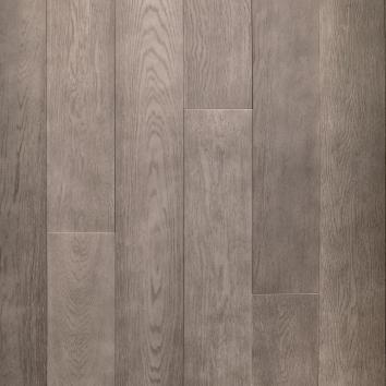 Parquet grigio cemento tavole legno rovere